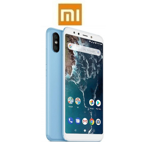 """XIAOMI Mi A2 Global (5.99""""/4G/8πύρηνο/6GB-128GB) Mπλε (με Ακουστικά Δώρο)"""
