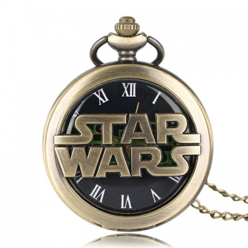 Star Wars Ρολόι Τσέπης με Αλυσίδα