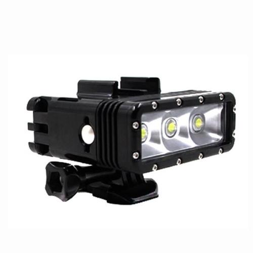 ΟΕΜ Υποβρύχιο Αδιάβροχο LED Φλας/Προβολέας με Επαναφορτιζόμενη Μπαταρία Λιθίου(GoPro/Gitup/ Xiaomi/Elecam/SJ)