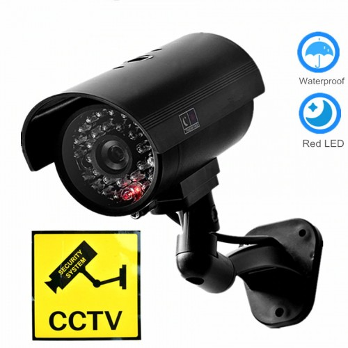 Dummy με Led IR-004 OEM Ψεύτικη Κάμερα Παρακολούθησης