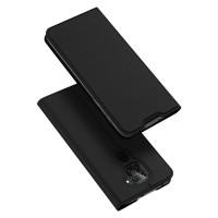 Dux Ducis Skin Pro Δερμάτινη Μαγνητική Θήκη Πορτοφόλι με Βάση Στήριξης για Xiaomi Redmi Note 9 - Black