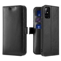 Dux Ducis Kado Δερμάτινη Μαγνητική Θήκη Πορτοφόλι με Βάση Στήριξης για Samsung A71 - Μαύρη