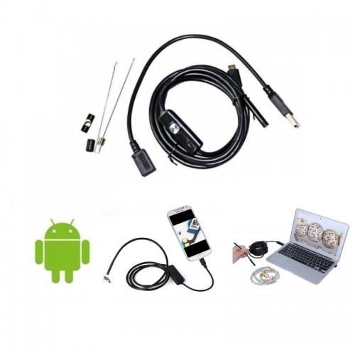 Αδιάβροχη Ενδοσκοπική Κάμερα OTG με USB 5m για Android / Η/Υ  AN97