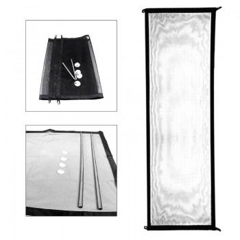 Gate Barrier Διάτρητο πτυσσόμενο πλέγμα περίφραξης χώρου για μωρά/κατοικίδια OEM-GB32761 (Large)