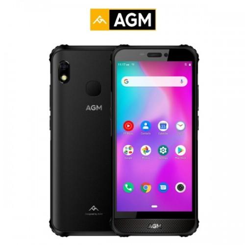 AGM A10 (5,7''/4πύρηνο/Αδιάβροχο IP68/Rugged/6GB-128GB) Μαύρο (Δώρο Ακουστικά)