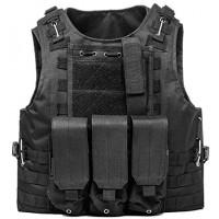 Γιλέκο Μάχης NetBoat Gilet Tactique Militaire Tactical Vest - Μαύρο