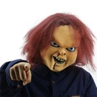 Μάσκα Τρομακτική Κούκλα για Απόκριες/Halloween/Cosplay 54456