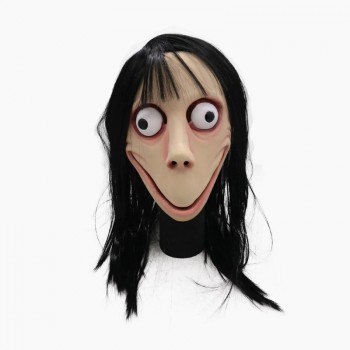 Μάσκα Momo Challenge για Απόκριες/Halloween/Cosplay 64482