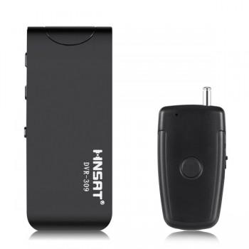 HNSAT DVR-309h Καταγραφικό Ήχου με Χειριστήριο (Μαγνητική Πλάτη/Playback/FM Radio) 8GB