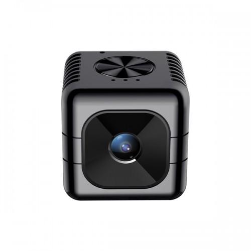 JNN D9 Spy Κρυφή IP Κάμερα εφαρμογή (WiFi/1080P/ FOV 110°/ 3 ώρες μπαταρία) 8GB