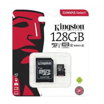 Kingston Canvas Select microSDXC Speed Class 10 SDCS/128GB