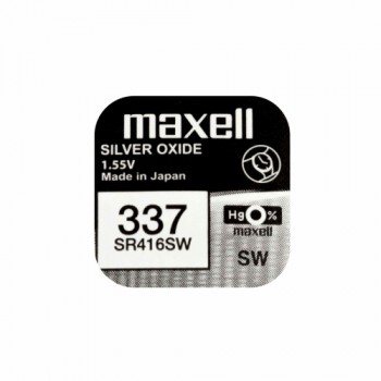 10 τεμάχια Maxell Μπαταρία #337 για Spy Ακουστικά Ψείρες