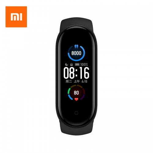 Xiaomi Mi Band 5 Smart Activity Tracker Global (Μαύρο)