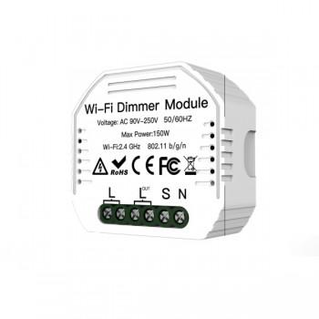 MOES MS-105 Έξυπνος διακόπτης Dimmer με WiFi απομακρυσμένη διαχείριση iOS/Android/Controller (max 150W)