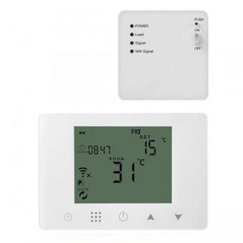 MOES HY09-GCWRW Έξυπνoς WiFi Θερμοστάτης για Θερμοσίφωνα - Boiler Heating Temperature Controller
