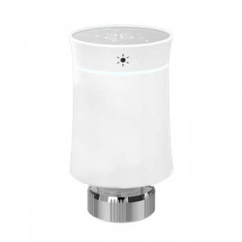 MOES ZTRV-BY-100 Έξυπνη WiFi Θερμοστατική Βαλβίδα Καλοριφέρ Tuya ZigBee 3.0