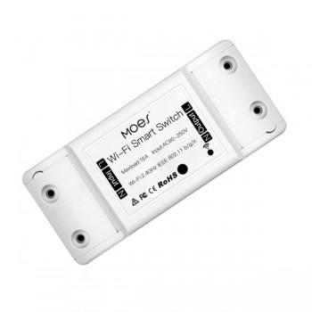 MOES MS-101-16A Έξυπνος ασύρματος διακόπτης WiFi για απομακρυσμένη διαχείριση iOS/Android 16A