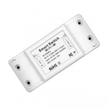 MOES MS-101WR Έξυπνος ασύρματος διακόπτης WiFi & RF 433MHz για απομακρυσμένη διαχείριση iOS/Android/Controller 10A