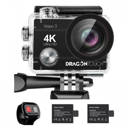 "Dragon Touch Vision 3 (2""-16MP-4K-WIFI-170°-Αδιάβροχη)"
