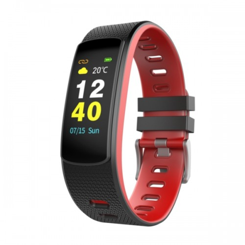 IWOWNFIT i6 HR Color Smart Fitness Band Κόκκινο