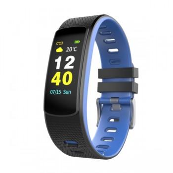 IWOWNFIT i6 HR Color Smart Fitness Band Μπλε