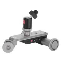 Kingjoy PPL-06S Μίνι Ηλεκτροκίνητο Slider 3-Τροχών για DSLR Κάμερα/Smartphone