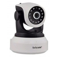 Sricam SP017 Wifi/IP Camera  (Ρομποτική/Νυχτερινή Λήψη/SD)