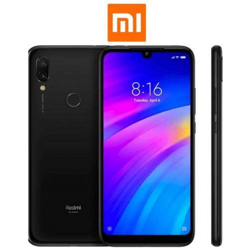 """XIAOMI Redmi 7 Global (6.26""""/4G/8πύρηνο/3GB-32GB) Μαύρο (Ακουστικά δώρο)"""