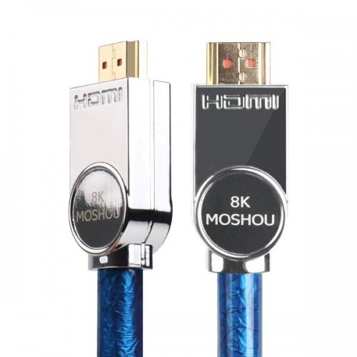 Moshou HDMI 2.1 (1,5m) UHD Kαλώδιο 8K 48Gbps
