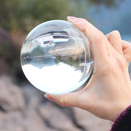 ΟΕΜ Τεχνητή Γυάλινη Μπάλα Φωτογραφίας 50mm (Διάφανη) 0f96a31391c