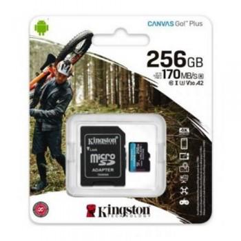 Kingston Canvas Go! Plus microSDXC SDCG3/256GB U3 V30 A2
