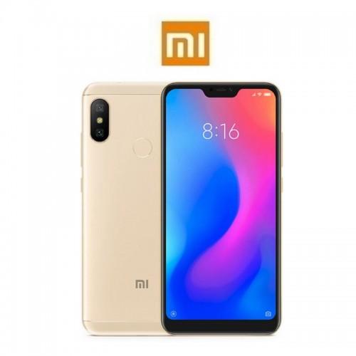 """XIAOMI Mi A2 Lite EU (5.84""""/4G/8πύρηνο/4GB-64GB) Χρυσό (Ακουστικά Δώρο)"""