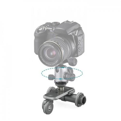 Kingjoy PPL-06 Μίνι Ηλεκτροκίνητο Slider 3-Τροχών για DSLR Κάμερα