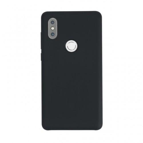 ΟΕΜ Θήκη Σιλικόνης Backcover για Xiaomi Mi Mix 2S - Μαύρη