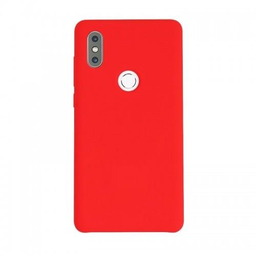 ΟΕΜ Θήκη Σιλικόνης Backcover για Xiaomi Mi Mix 2S - Κόκκινη