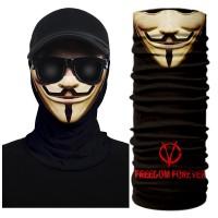 V for Vendetta – SP03 OEM Μπαλακλάβα, Τύπου Buff Μάσκα Λαιμού
