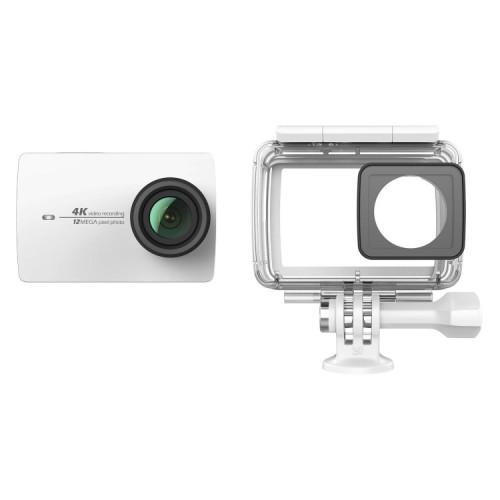 Yi 4K και Αδιάβροχη Θήκη - EU Edition (4K 12MP WIFI Action Cam) (Λευκή) (Ζ16ΤΖ02ΧΥ)