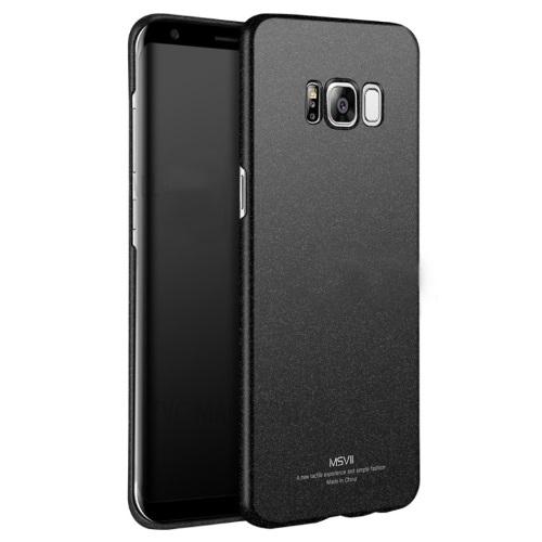 MSVII Ματ Backcover Θήκη (Samsung Galaxy S8) (5.8'') (Ζαγρέ Μαύρο)