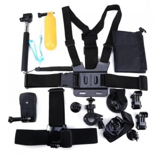 13-σε-1 Action Camera Kit OEM (GoPro/Xiaomi/SJCAM/ ELECAM/Gitup)