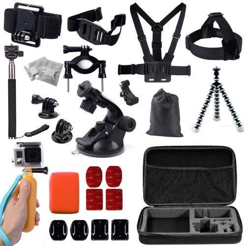 19-σε-1 Action Camera Kit OEM (GoPro/Xiaomi/SJCAM/ ELECAM/Gitup)