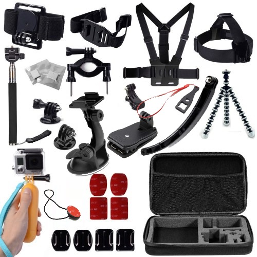 24-σε-1 Action Camera Kit (GoPro/Xiaomi/SJCAM/ ELECAM/Gitup)
