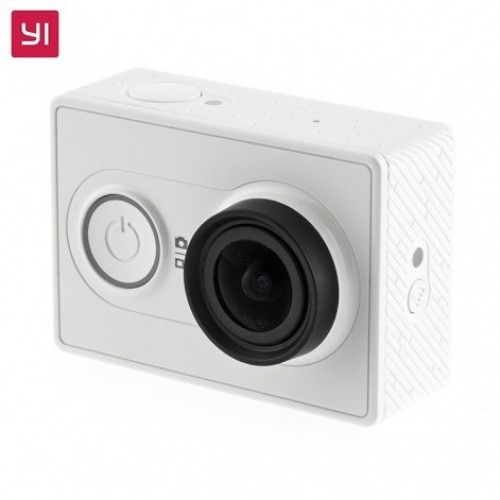 Yi EU Edition Ambarella A7LS 1080P 16MP WIFI Action Camera(Λευκή)