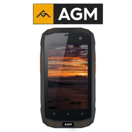 "AGM A2 Rio (4""/4G/4πύρηνο/Αδιάβροχο IP68/Rugged/2-16GB) (Μαύρο)"