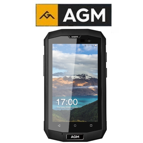 AGM A8 Mini (4''/4G/4πύρηνο/Αδιάβροχο IP68/Rugged/1-8GB)(Μαύρο)