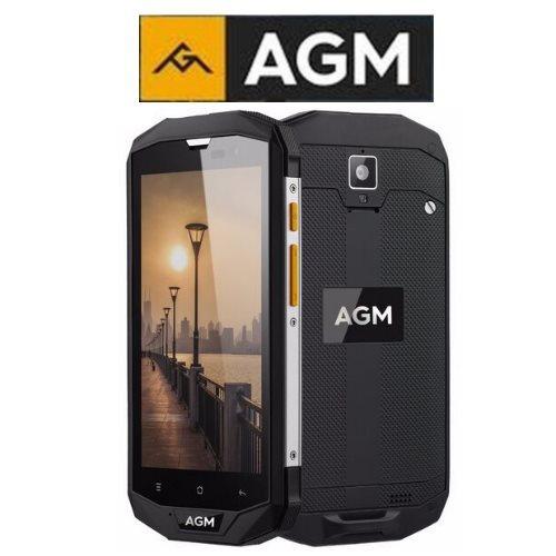 AGM A8 (5''/4G/4πύρηνο/Αδιάβροχο IP68/Rugged/3-32GB)(Μαύρο)  + ακουστικά δώρο
