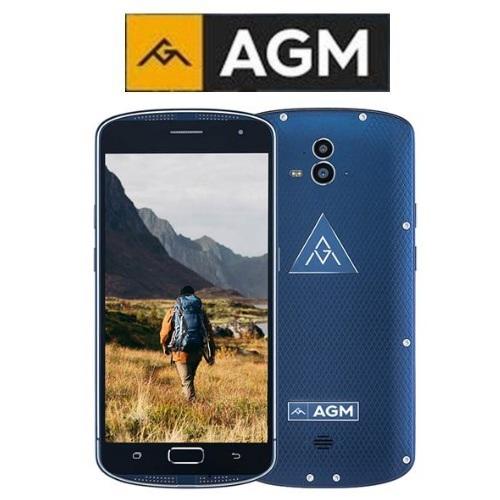 AGM X1 (5.5''/4G/8πύρηνο/Αδιάβροχο IP68/Rugged/NFC/4GB-64GB)(Μπλε)