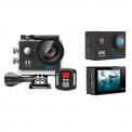 EKEN H9R Action Camera (4K - 12MP - WiFi - Remote - Αδιάβροχη) Μαύρη