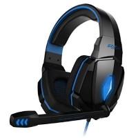 KOTION Each G4000 Stereo Gaming Headband Headphone με Μικ.(Blue-Black)
