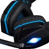 KOTION Each G4000 Stereo Gaming Headband Headphone με Μικ.(Blue-Black)