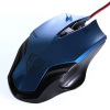 Motospeed F61 Mouse (Optical Gaming/Wired/2000dpi/6 Πλήκτρα/)(BLUE)